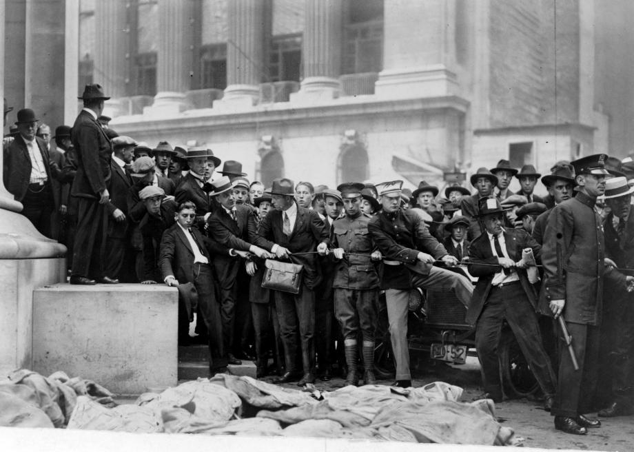 The Wall Street Bombing of 1920