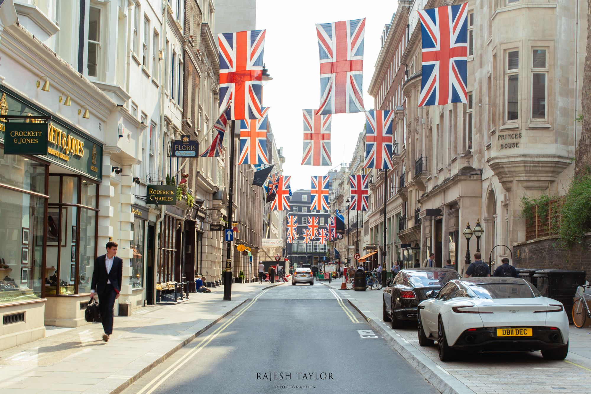 Peaceful Jermyn Street of St James's, London © Rajesh Taylor