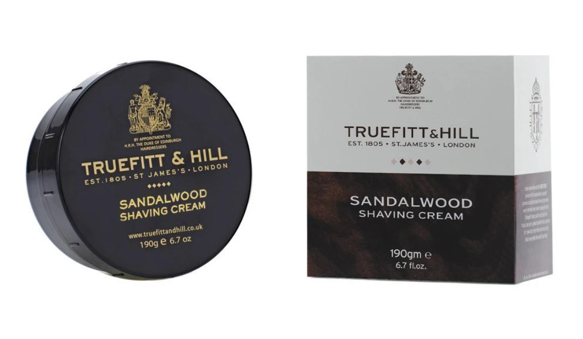 Sandalwood Shaving Cream: Truefitt & Hill