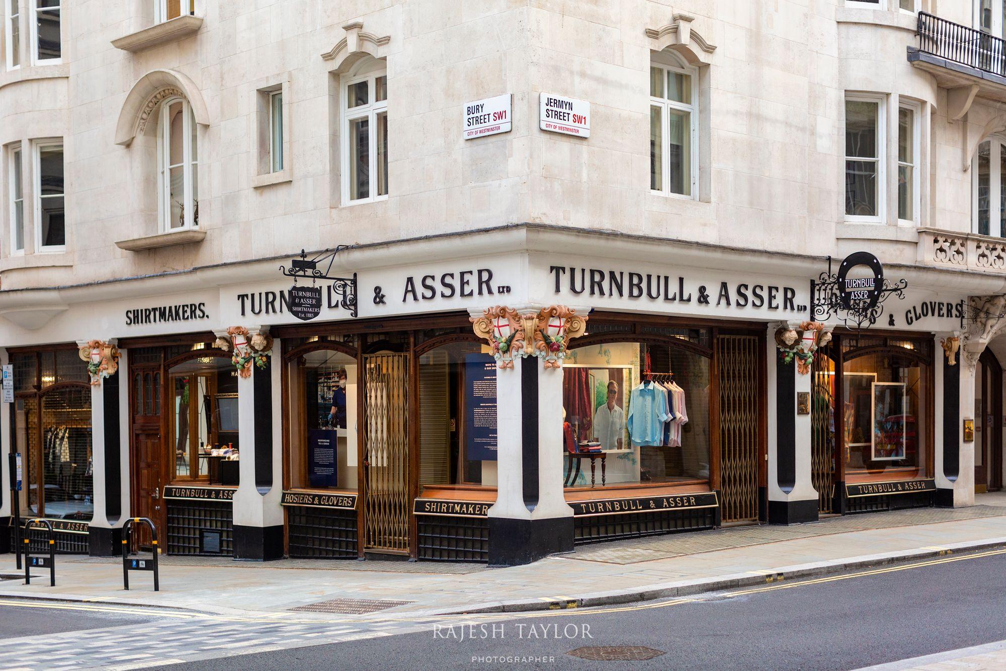 Turnbull & Asser of Jermyn St, London © Rajesh Taylor