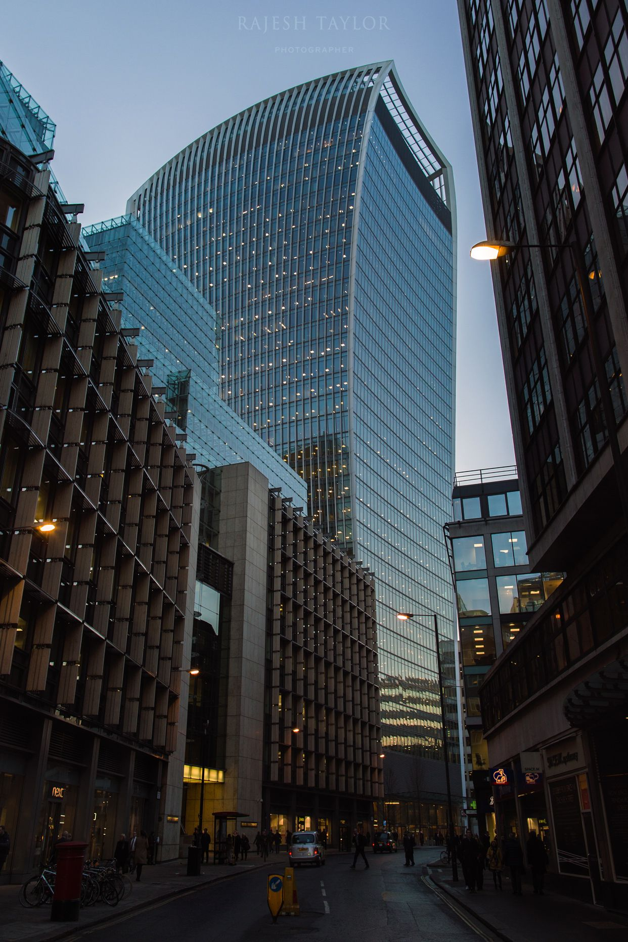20 Fenchurch Street, Walkie Talkie Tower, City of London. ©Rajesh Taylor