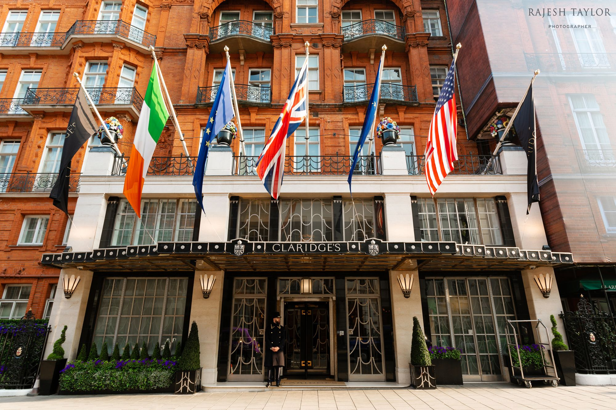 Claridge's Hotel, Mayfair © Rajesh Taylor