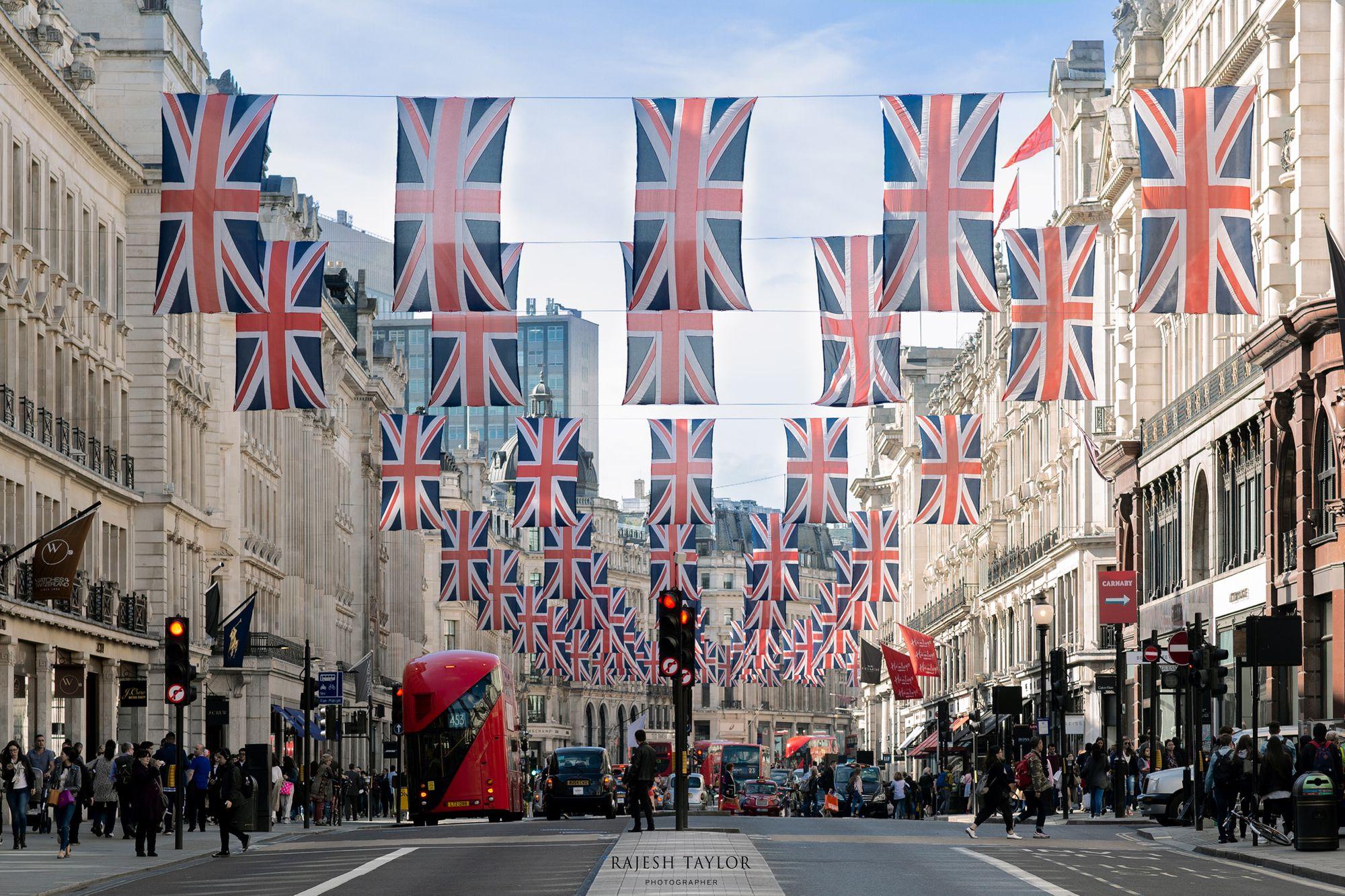 Regent Street, London ©Rajesh Taylor