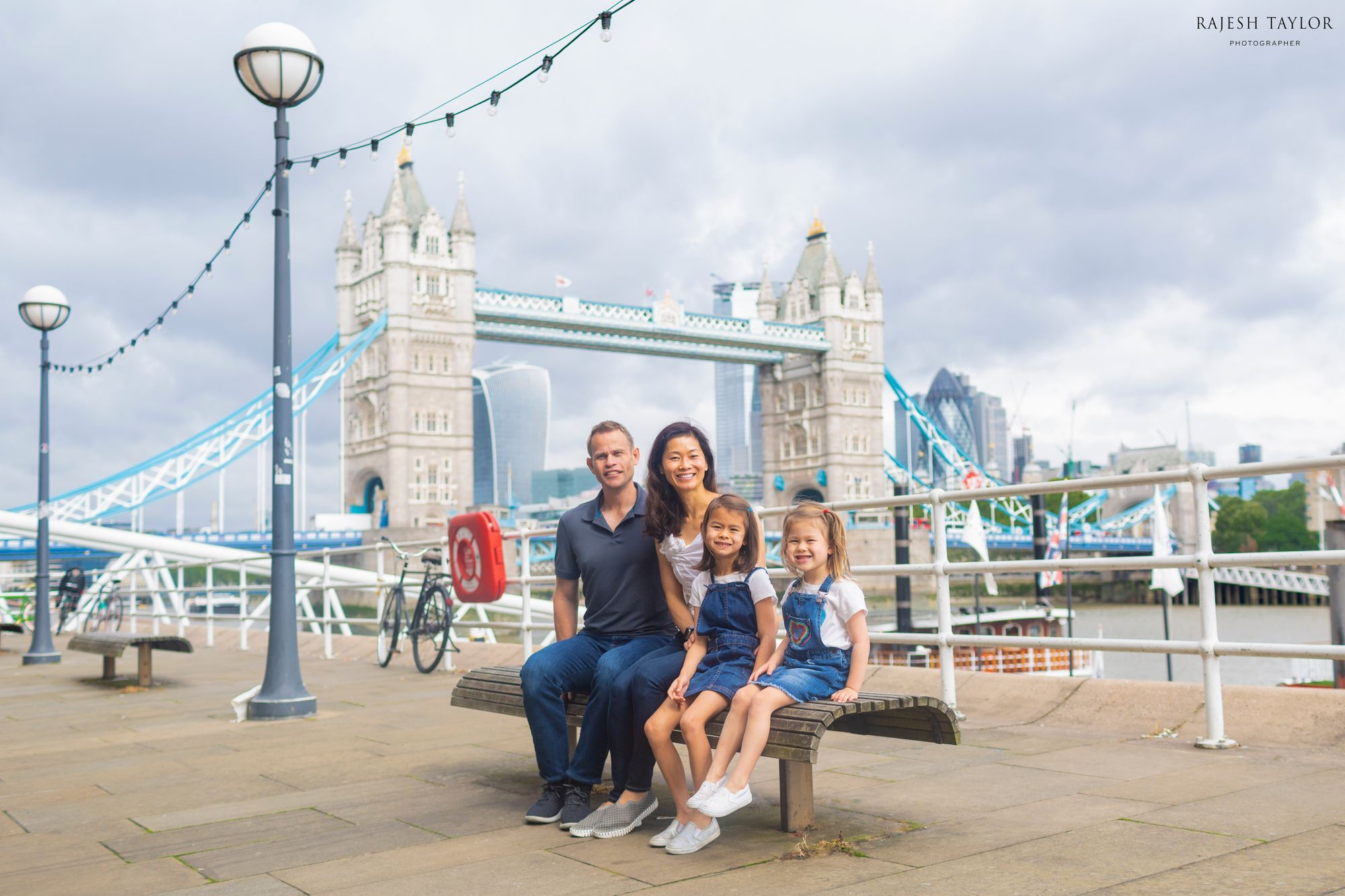 Dr Who Family Adventures by Butler's Wharf Pier © Rajesh Taylor