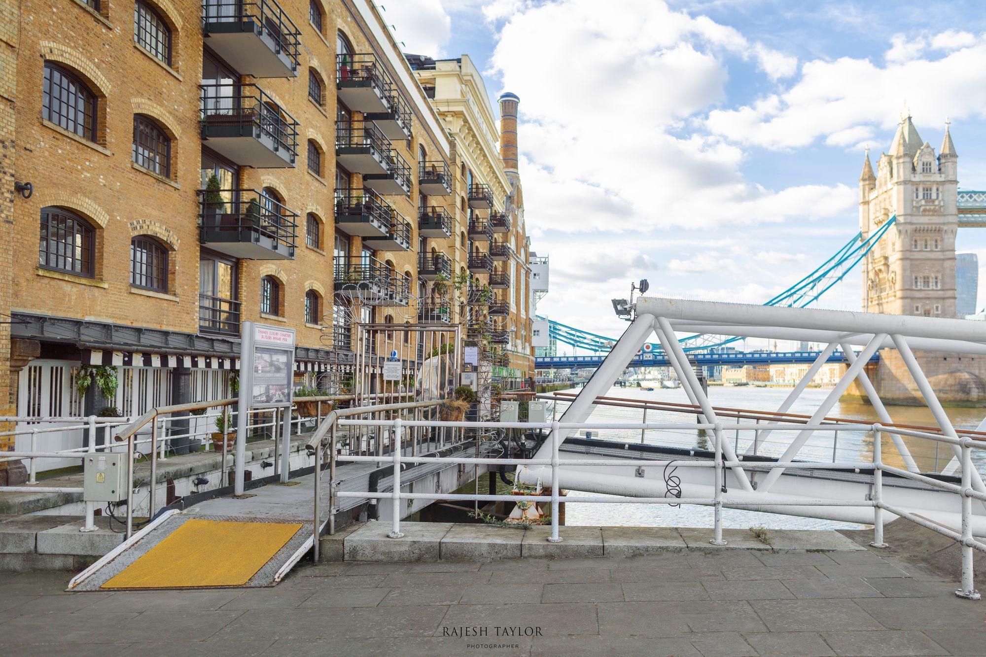 Butlers Wharf Pier facing Tower Bridge © Rajesh Taylor