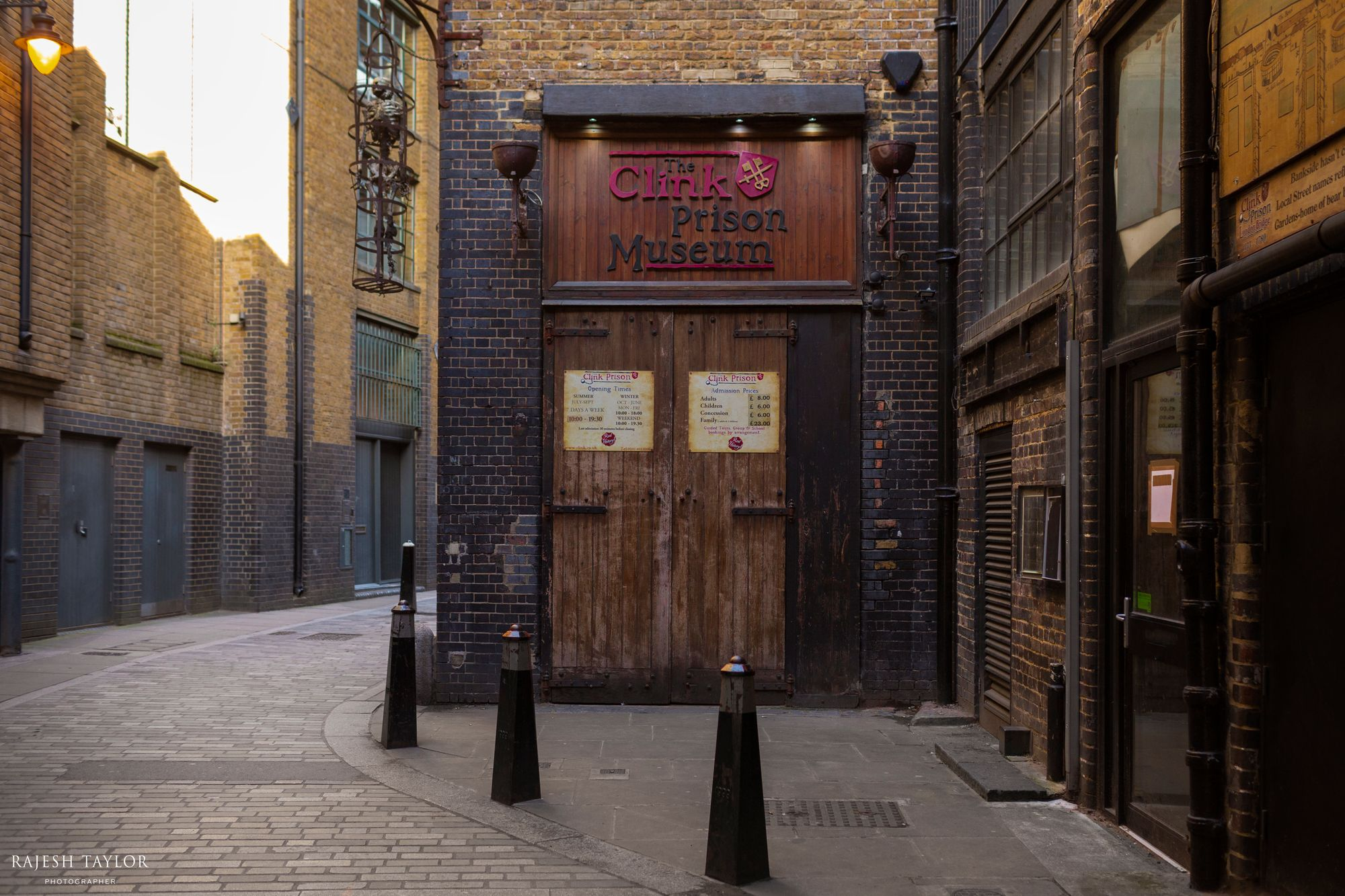 Clink Prison Museum, Southwark © Rajesh Taylor