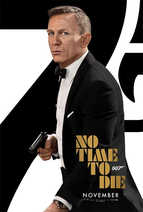 No Time to Die Tuxedo Suit Promotional Poster: Danjaq & MGM