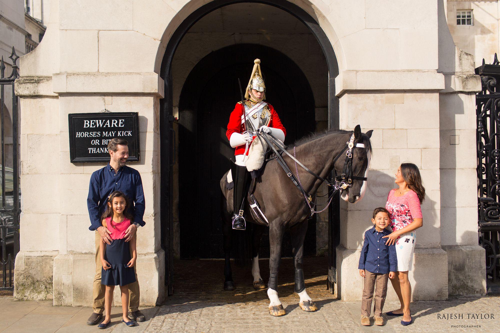 Royal Horse Guards Entrance on Whitehall © Rajesh Taylor