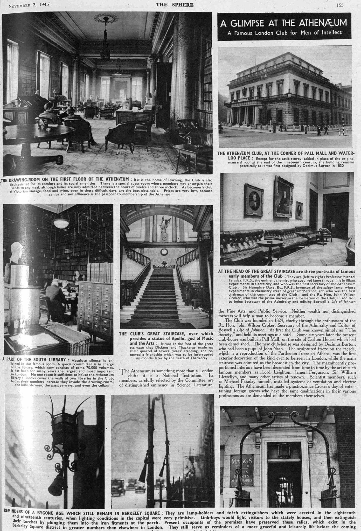 The Athenaeum Club 1945: The Sphere p1.55