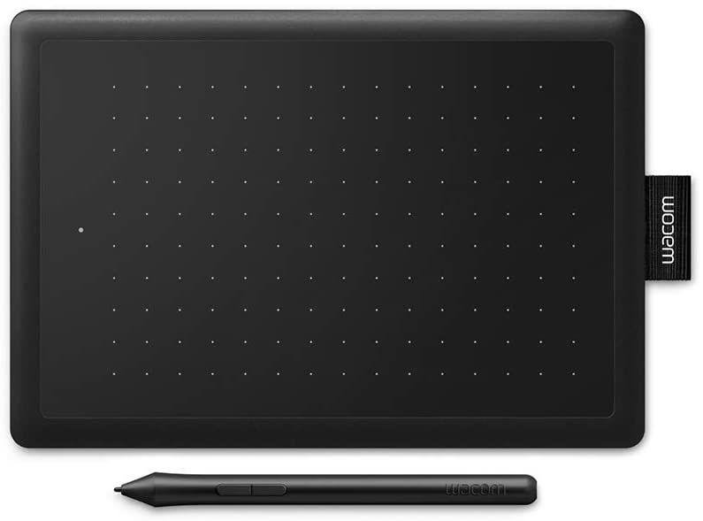Wacom pen & tablet, small travel size.